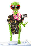 alien hitchhiker стоковая фотография