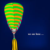Alien illustration Royalty Free Stock Images