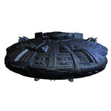 Alien imperial cruiser Royalty Free Stock Photography