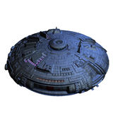 Alien imperial cruiser Stock Image