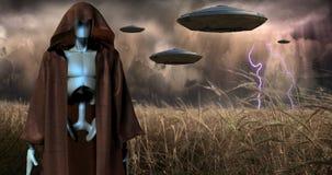 Free Alien Invasion Royalty Free Stock Photos - 130365698