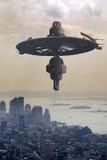 Alien invasion Stock Photo