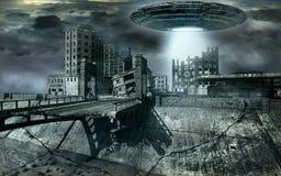 Alien invasion Royalty Free Stock Photo