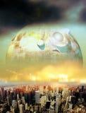 Alien invasion Stock Image
