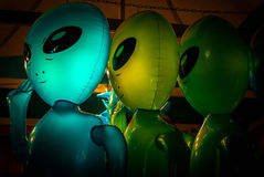 Alien Invasion Royalty Free Stock Photography