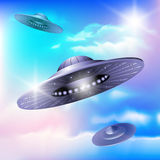 Alien invasion Stock Photo
