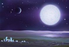 Alien landscape Stock Image