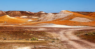 Alien landscape  Breakaways Coober Pedy Australia Stock Images