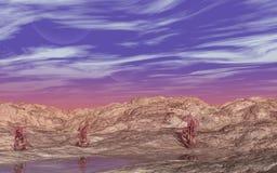 Alien Landscape Royalty Free Stock Images