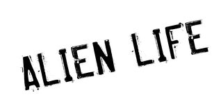 Alien Life rubber stamp Royalty Free Stock Photos
