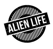 Alien Life rubber stamp Stock Images