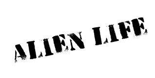 Alien Life rubber stamp Royalty Free Stock Images