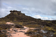 Alien looking like rocky terrain of mount Roraima Royalty Free Stock Photos