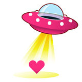 Alien Love Stock Illustration