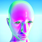 Alien man Stock Image