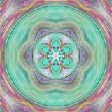 Alien Mandala royalty free illustration