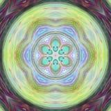 Alien Mandala 2 stock illustration