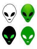 Alien mask Stock Image