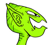 Alien mask Royalty Free Stock Image