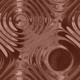 Alien Metal-brown glass Royalty Free Stock Photo