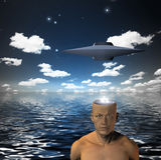 Alien Mind Royalty Free Stock Image