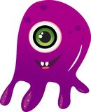Alien monster Royalty Free Stock Image