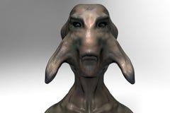 Alien monster portrait Stock Photography