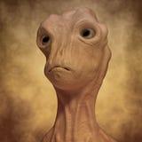 Alien monster portrait Royalty Free Stock Photos