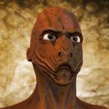 Alien monster portrait Stock Photos