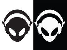 Alien monsters Background royalty free illustration