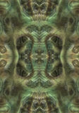 Alien Organic Background. Green Organic Alien Textured Background Royalty Free Stock Photography