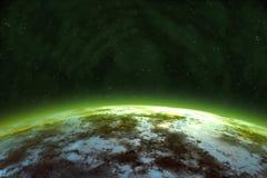Alien Planet Royalty Free Stock Photo