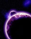 Alien planet Stock Photos