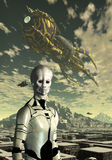 Alien Planet Stock Images