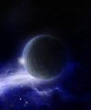 Alien Planet - 3D Rendered Computer Artwork. Alien Planet - 3D rendered artwork Royalty Free Stock Photography