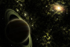 Free Alien Planet In The Deep Space Royalty Free Stock Photography - 91198527