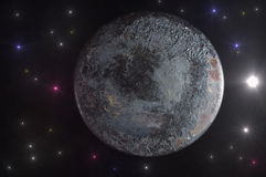 The alien planet. Stock Photography