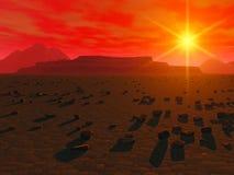 Alien planet Royalty Free Stock Image