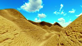 Alien planet scenery stock footage