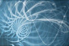 Alien Portal Abstract Background stock illustration