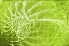 Alien Portal Abstract Background Royalty Free Stock Image