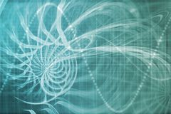 Alien Portal Abstract Background Royalty Free Stock Images