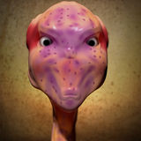 Alien portrait Royalty Free Stock Image