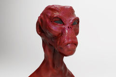 Alien portrait Stock Photos