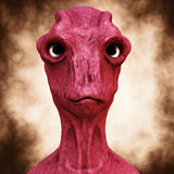 Alien portrait Royalty Free Stock Photos