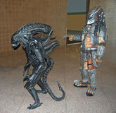 Alien and Predator at Comicon New Orleans Royalty Free Stock Photography
