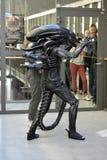 Alien in public Stock Images