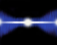 Alien pulse. Royalty Free Stock Photography