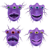 Alien purple Stock Photography