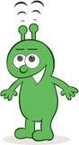 Alien Receiving Signals Stock Photo